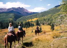 J2F Guest Ranch - Horseback Riding in Winter