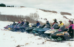 J2F Guest Ranch - Snowmobilers